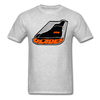 Erie Blades Logo T-Shirt - heather gray