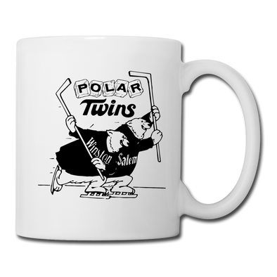 Winston-Salem Polar Twins Mug (SHL) - white