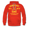 Suncoast Suns Double Sided Premium Hoodie (EHL) - red