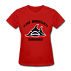 Los Angeles Sharks Logo Women's T-Shirt (WHA) - red