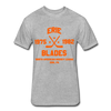 Erie Blades Dated T-Shirt (NAHL) - heather gray