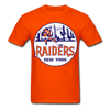 New York Raiders Logo T-Shirt (WHA) - orange