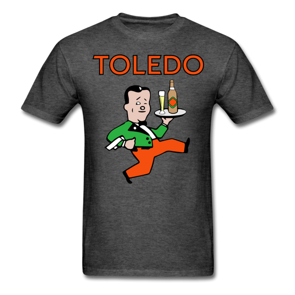 Toledo Buckeyes Logo T-Shirt (EHL) - heather black