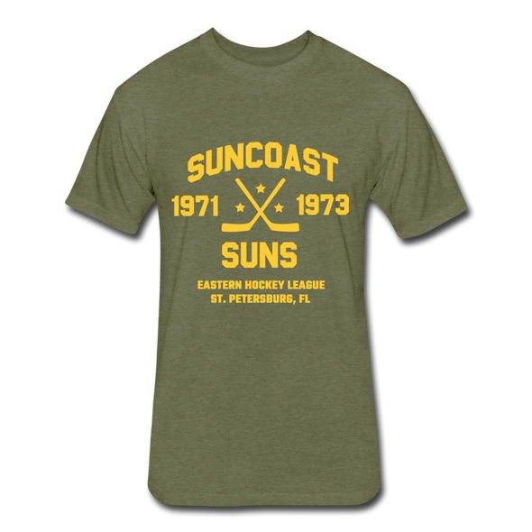 Suncoast Suns Dated T-Shirt (EHL) - heather military green