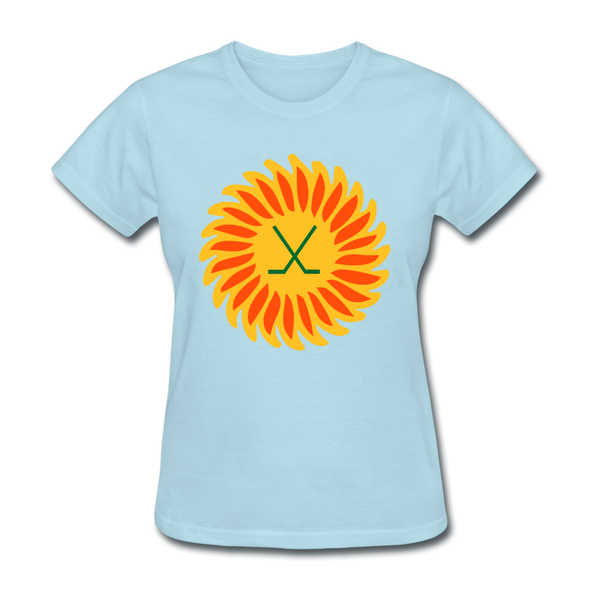 Suncoast Suns Logo Women's T-Shirt (EHL & SHL) - powder blue