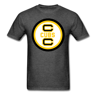 Cape Cod Cubs Logo T-Shirt (EHL & NAHL) - heather black