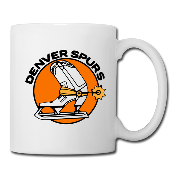 Denver Spurs Mug (CHL) - white