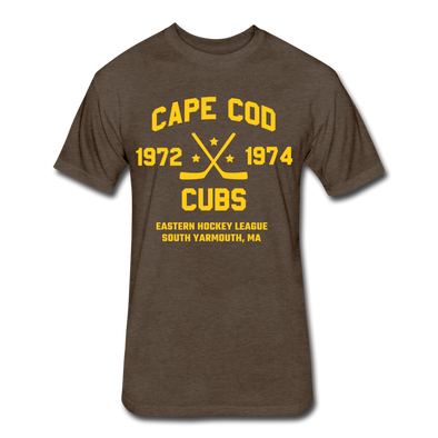 Cape Cod Cubs Dated T-Shirt (EHL & NAHL) - heather espresso