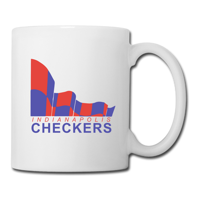 Indianapolis Checkers Mug (CHL) - white