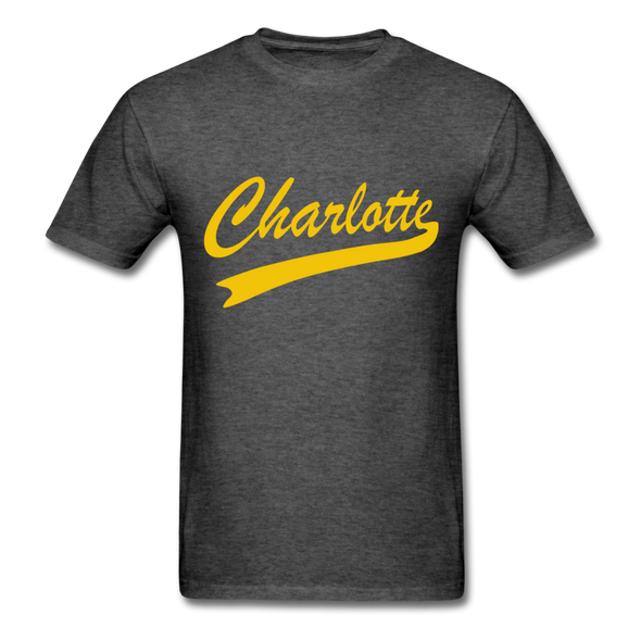 Charlotte Clippers Logo T-Shirt (EHL) - heather black