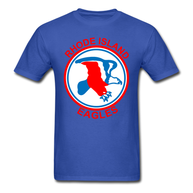 Rhode Island Eagles Logo T-Shirt (EHL) - royal blue