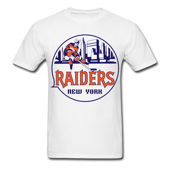 New York Raiders Logo T-Shirt (WHA) - white