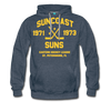 Suncoast Suns Double Sided Premium Hoodie (EHL) - heather denim