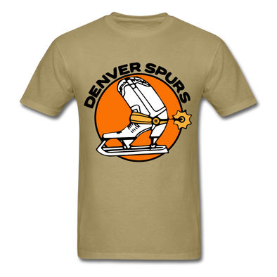 Denver Spurs Logo T-Shirt (CHL) - khaki