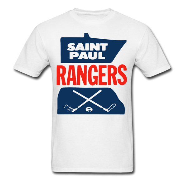 Saint Paul Rangers Logo T-Shirt (CHL) - white