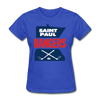 Saint Paul Rangers Women's Logo T-Shirt (CHL) - royal blue