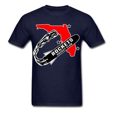 Florida Rockets Logo T-Shirt (EHL) - navy
