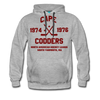 Cape Codders Double Sided Premium Hoodie (NAHL) - heather gray