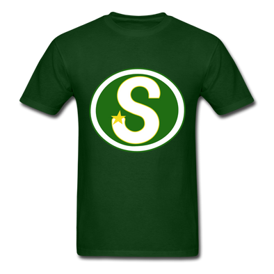 Memphis South Stars Logo T-Shirt (CHL) - forest green