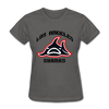 Los Angeles Sharks Logo Women's T-Shirt (WHA) - charcoal