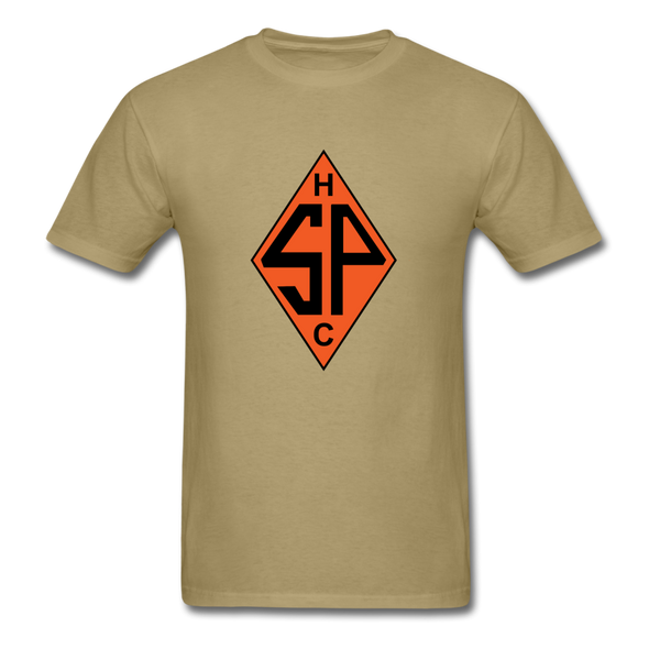 Sands Point Tigers Logo T-Shirt (EHL) - khaki