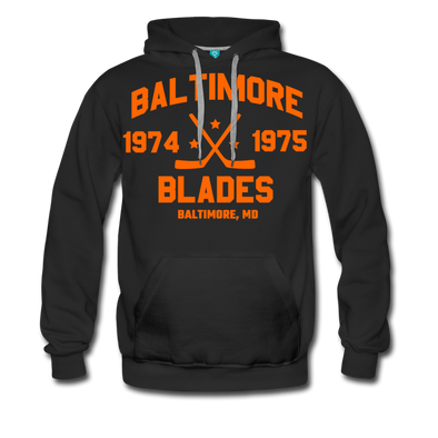 Baltimore Blades Double Sided Premium Hoodie (WHA) - black