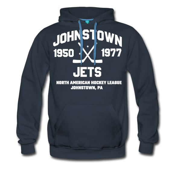 Johnstown Jets Double Sided Premium Hoodie (NAHL) - navy