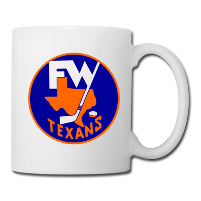 Fort Worth Texans Mug (CHL) - white