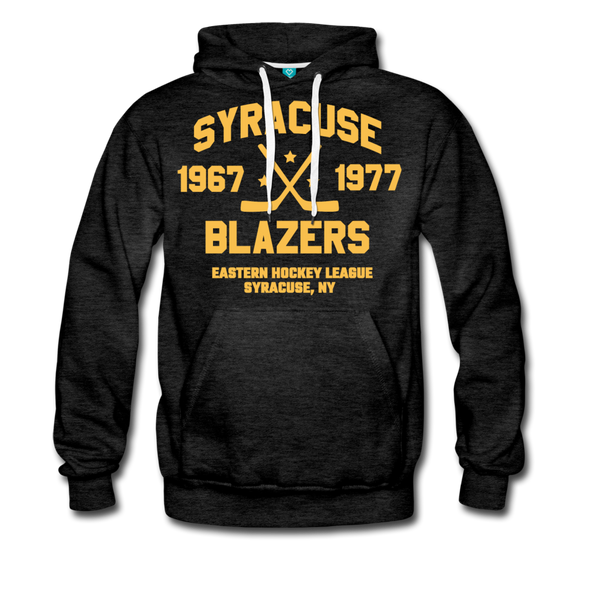 Syracuse Blazers Double Sided Premium Hoodie (EHL) - charcoal gray