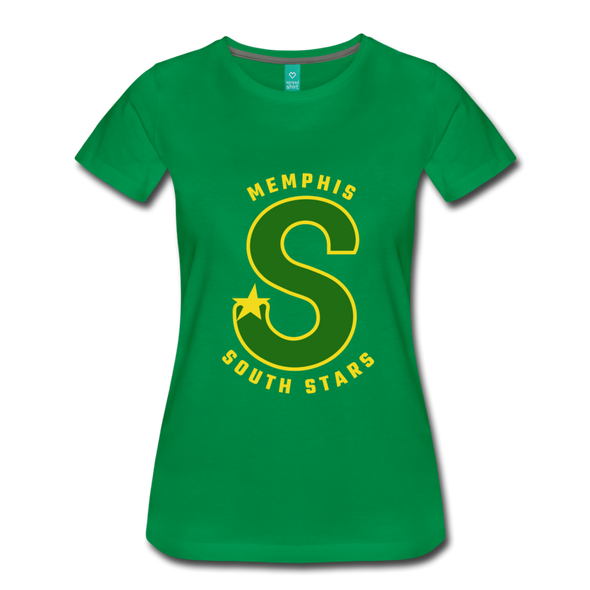 Memphis South Stars Women's T-Shirt (CHL) - kelly green