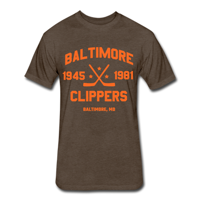 Baltimore Clippers Dated T-Shirt (SHL) - heather espresso