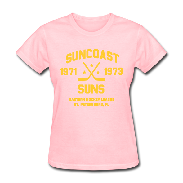 Suncoast Suns Dated Women's T-Shirt (EHL) - pink