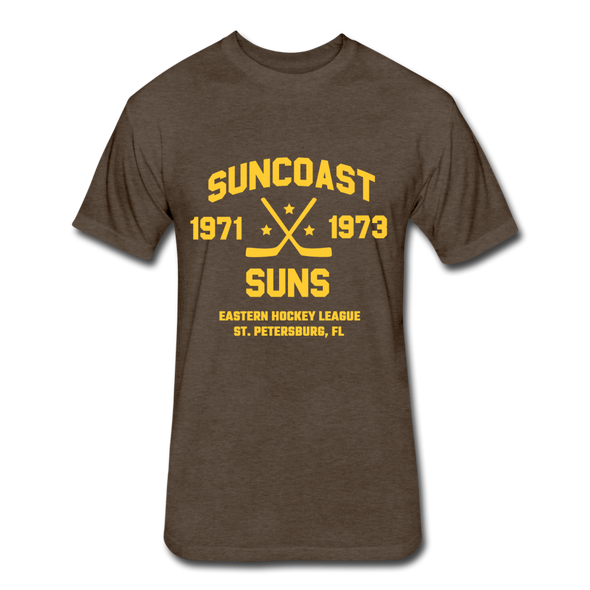 Suncoast Suns Dated T-Shirt (EHL) - heather espresso