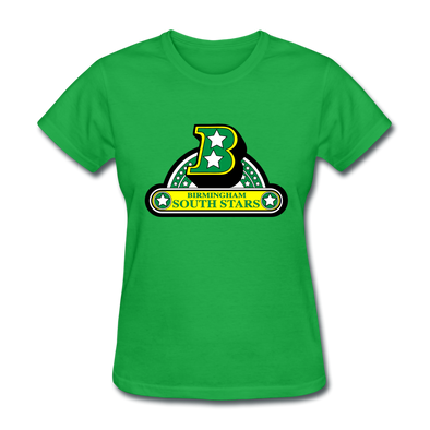 Birmingham South Stars Logo Women's T-Shirt (CHL) - bright green