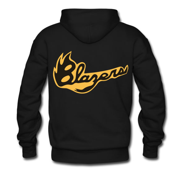Syracuse Blazers Double Sided Premium Hoodie (NAHL) - black