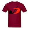 Jersey Hockey Club Logo T-Shirt (EHL) - burgundy