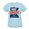 Saint Paul Rangers Women's Logo T-Shirt (CHL) - powder blue
