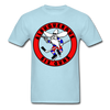 Albuquerque Six Guns Text Logo T-Shirt (CHL) - powder blue