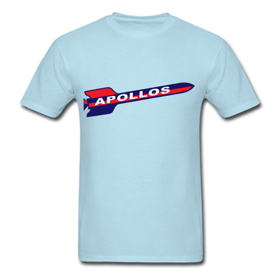 Houston Apollos Rocket Logo T-Shirt (CHL) - powder blue