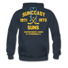 Suncoast Suns Double Sided Premium Hoodie (EHL) - navy