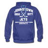Johnstown Jets Double Sided Premium Hoodie (NAHL) - royalblue