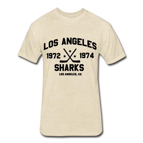 Los Angeles Sharks Dated T-Shirt (WHA) - heather cream