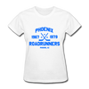 Phoenix Roadrunners Dated Women's T-Shirt - white