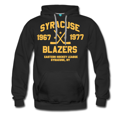 Syracuse Blazers Double Sided Premium Hoodie (EHL) - black