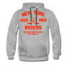New York Rovers Double Sided Premium Hoodie (EHL) - heather gray