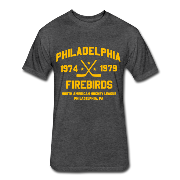 Philadelphia Firebirds Dated T-Shirt (NAHL) - heather black