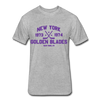 New York Golden Blades Dated T-Shirt (WHA) - heather gray