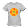 Suncoast Suns Logo Women's T-Shirt (EHL & SHL) - heather gray