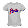 New York Rovers Logo Women's T-Shirt (EHL) - heather gray