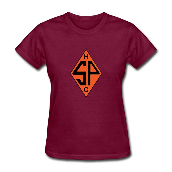 Sands Point Tigers Logo T-Shirt (EHL) - burgundy